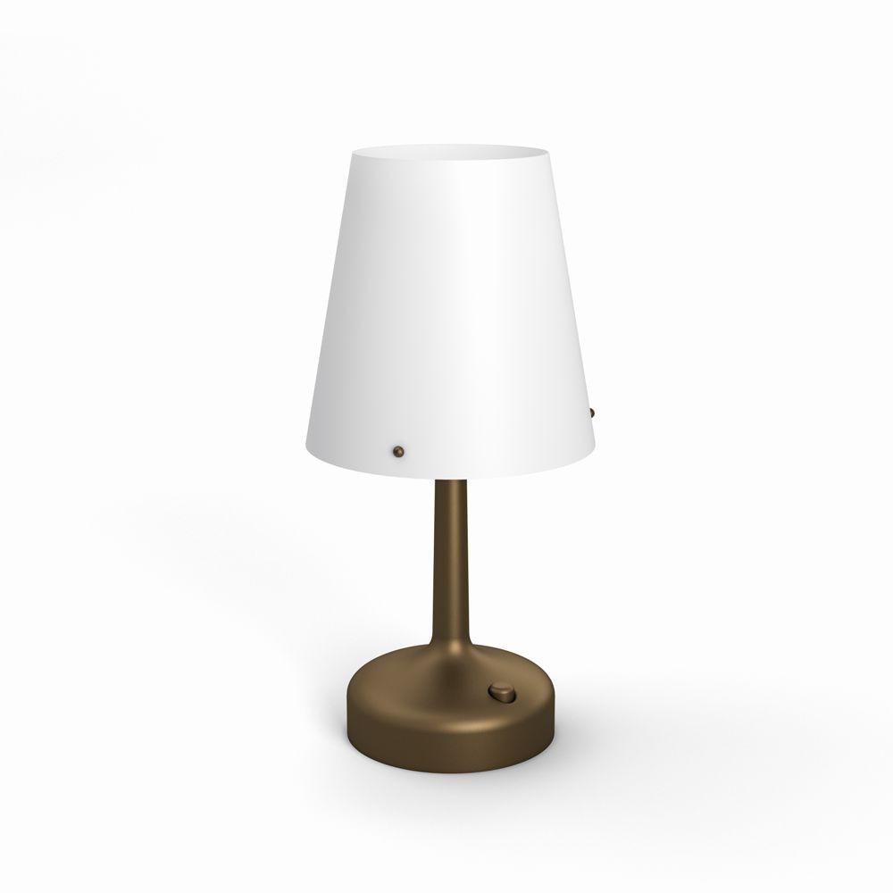 LED stolní lampa Philips 71796/06/P0 - bronz