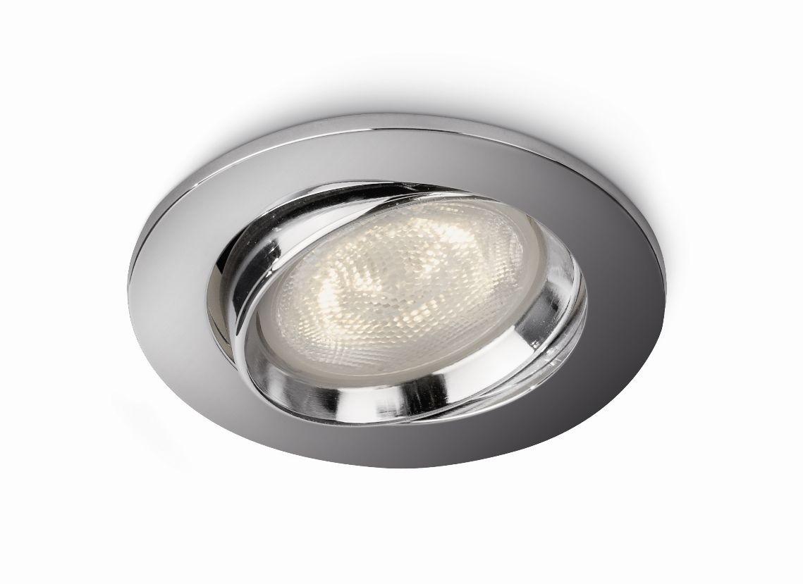 LED zápustné bodové svítidlo Philips ELLIPSE 59031/11/16 - lesklý chrom