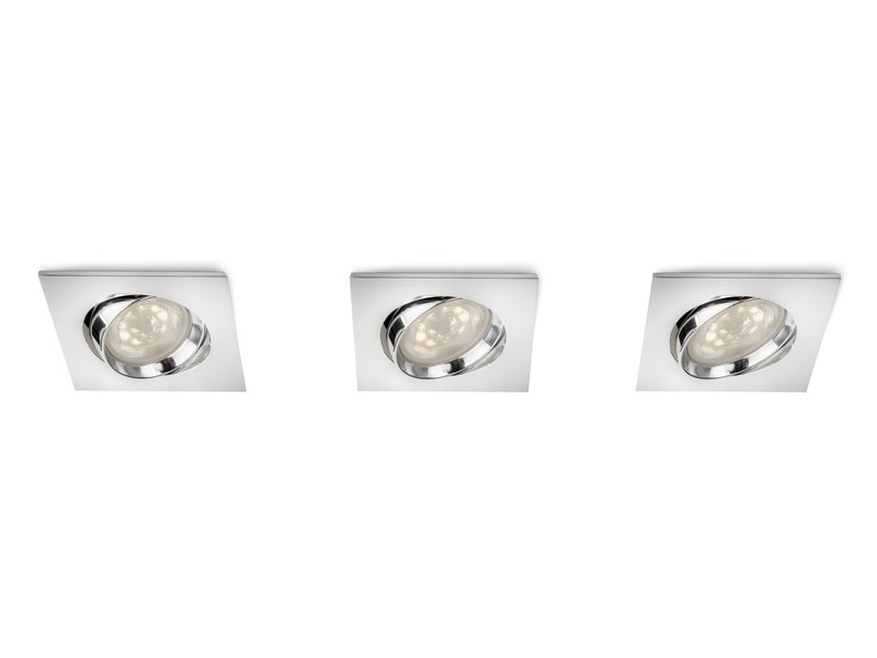 LED zápustné bodové svítidlo Philips GALILEO 59080/11/16 - lesklý chrom