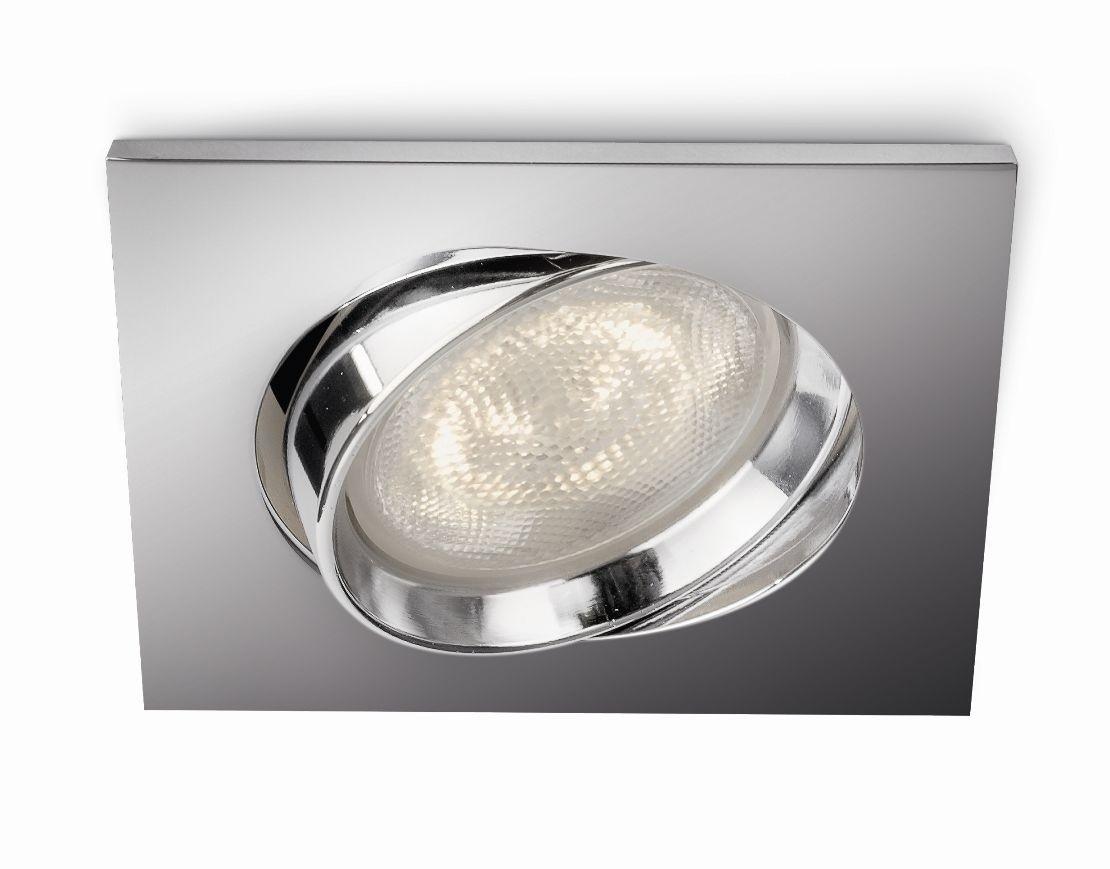 LED zápustné bodové svítidlo Philips GALILEO 59081/11/16 - lesklý chrom