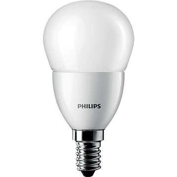 LED žárovka úsporná Philips 4W -> ekvivalent 25W E14 - CorePro LEDluster ND 4-25W E14 827 P45 FR