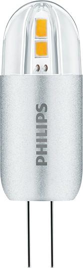 LED žárovka úsporná Philips Philips 2W -> nahrazuje 20W G4 - PH CorePro LEDcapsuleLV 2.2.-20W 830 G4