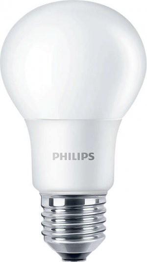 LED žárovka úsporná Philips 6W -> ekvivalent 40W E27 - CorePro LEDbulb D 6-40W E27 827