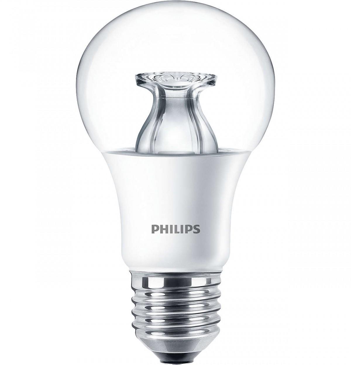 LED žárovka úsporná Philips 9W -> ekvivalent 60W E27 - MASTER LEDbulb DT 9-60W E27 A60 CL