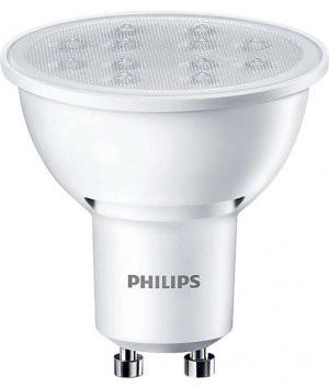 Philips LED žárovka 5W 50W GU10 studená bílá