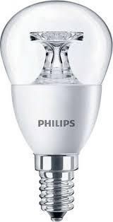 LED žárovka úsporná Philips 4W -> ekvivalent 25W E14 - CorePro LEDluster ND 4-25W E14 827 P45 CL