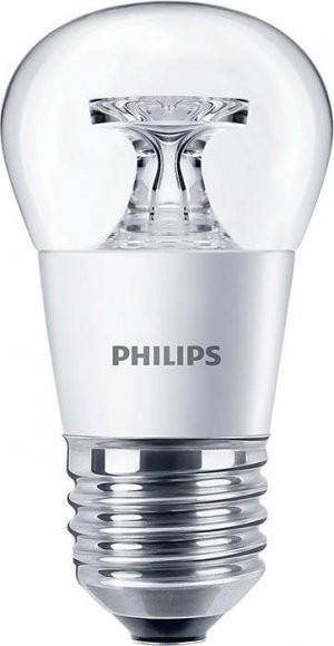 Philips LED žárovka P45 CL E27 4W 25W teplá bílá 2700K
