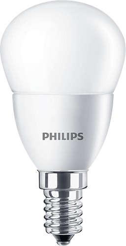 LED žárovka úsporná Philips 3,5W -> ekvivalent 25W E14 - CorePro LEDluster ND 3.5-25W E14 840 P45 FR
