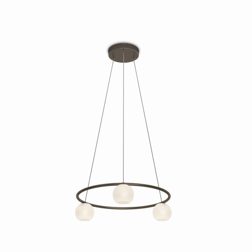 LED závěsné stropní svítidlo - lustr Philips VARANDE 36693/06/16 - bronz