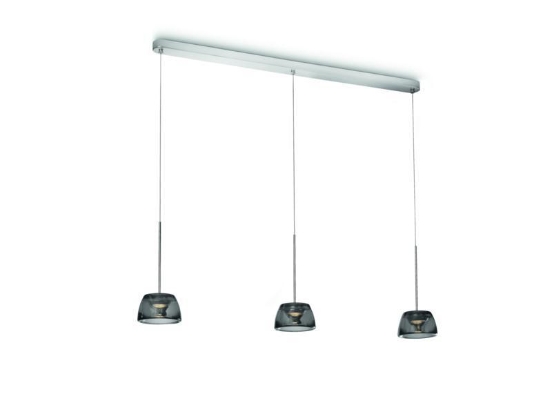 LED závěsné stropní svítidlo - lustr Philips CLARIO 40726/11/16 - lesklý chrom