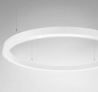 LED závěsné svítidlo Ledko LEDKO/00406 - alu profil v RAL, PMA opál