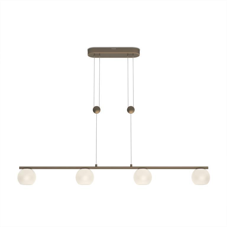 LED závěsné svítidlo - lustr Philips VARANDE 36697/06/16 - bronz