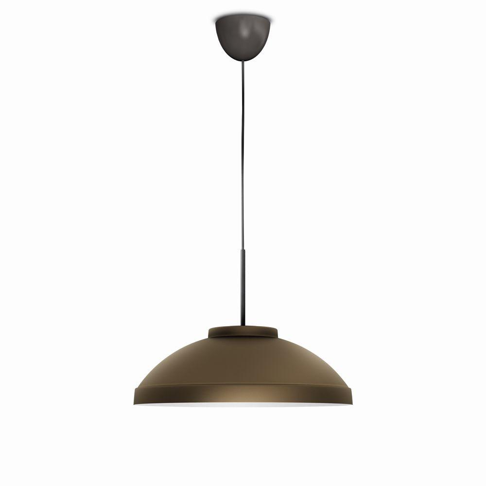 LED závěsné svítidlo - lustr Philips HAILTON 40908/06/16 - bronz
