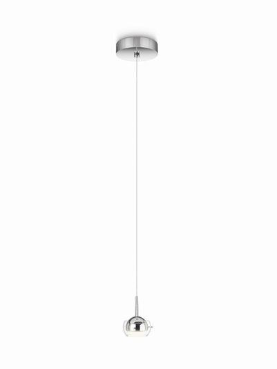 LED závěsné svítidlo - lustr Philips CYPRESS 53221/11/16 - lesklý chrom