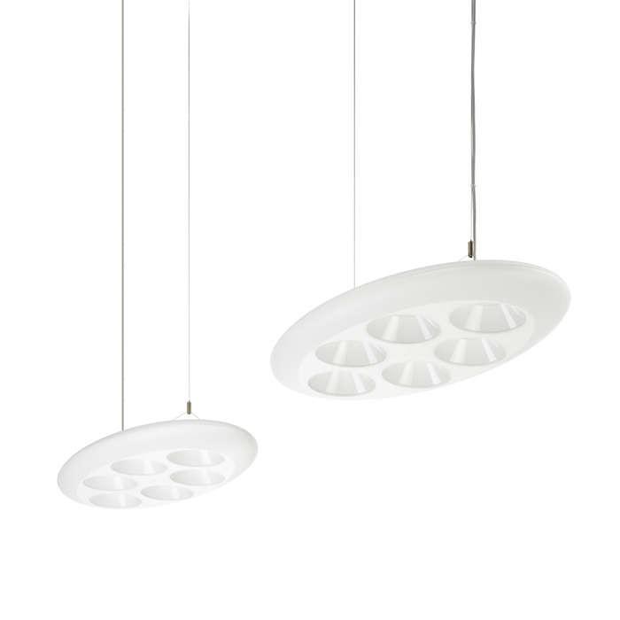 LED závěsné svítidlo Philips Lumistone - lustr 2x20W -> nahrazuje 300W - bílá