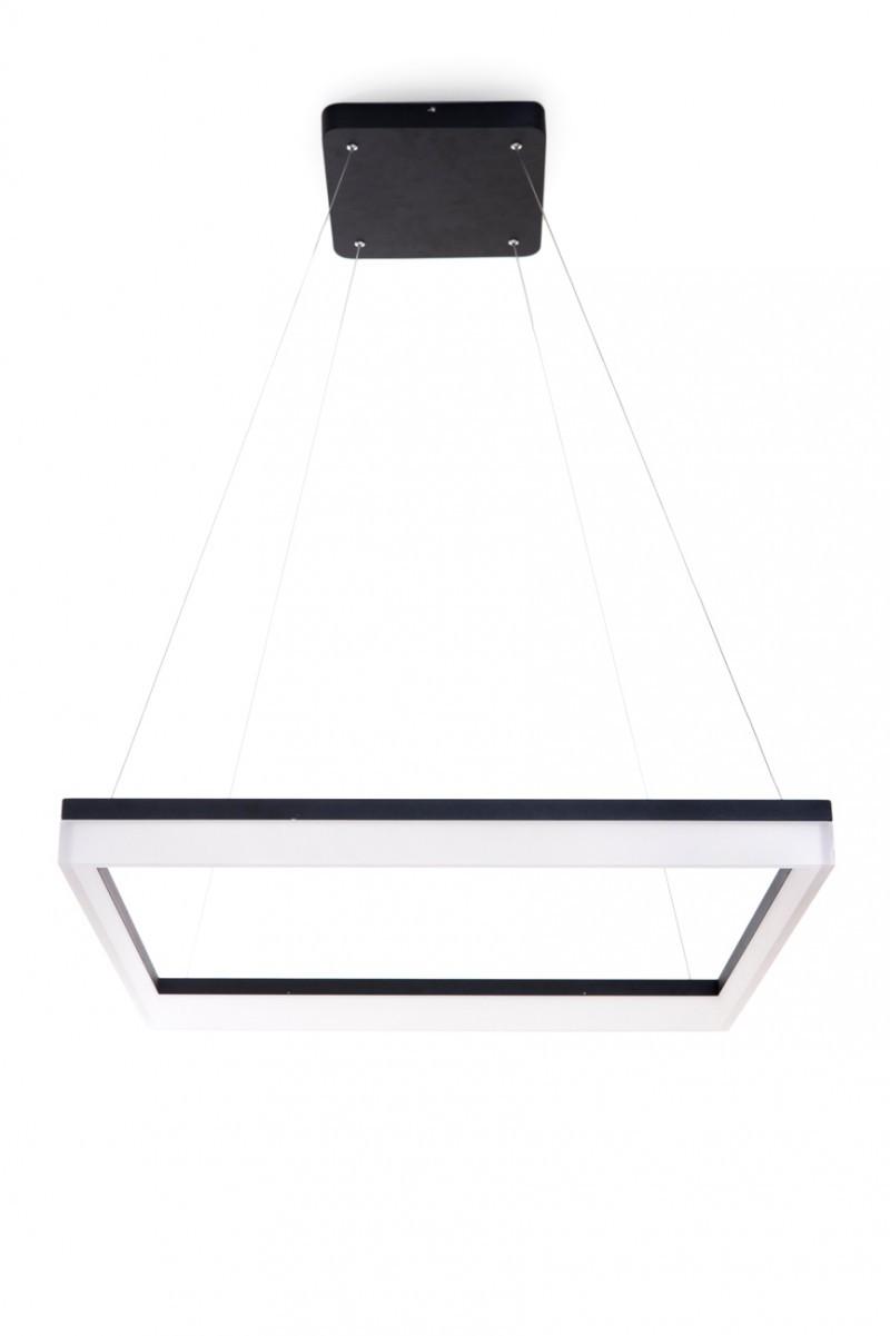 LED závěsné stropní svítidlo Ledko Ondaren Quadro LEDKO/00284 1X60W - černé barvy