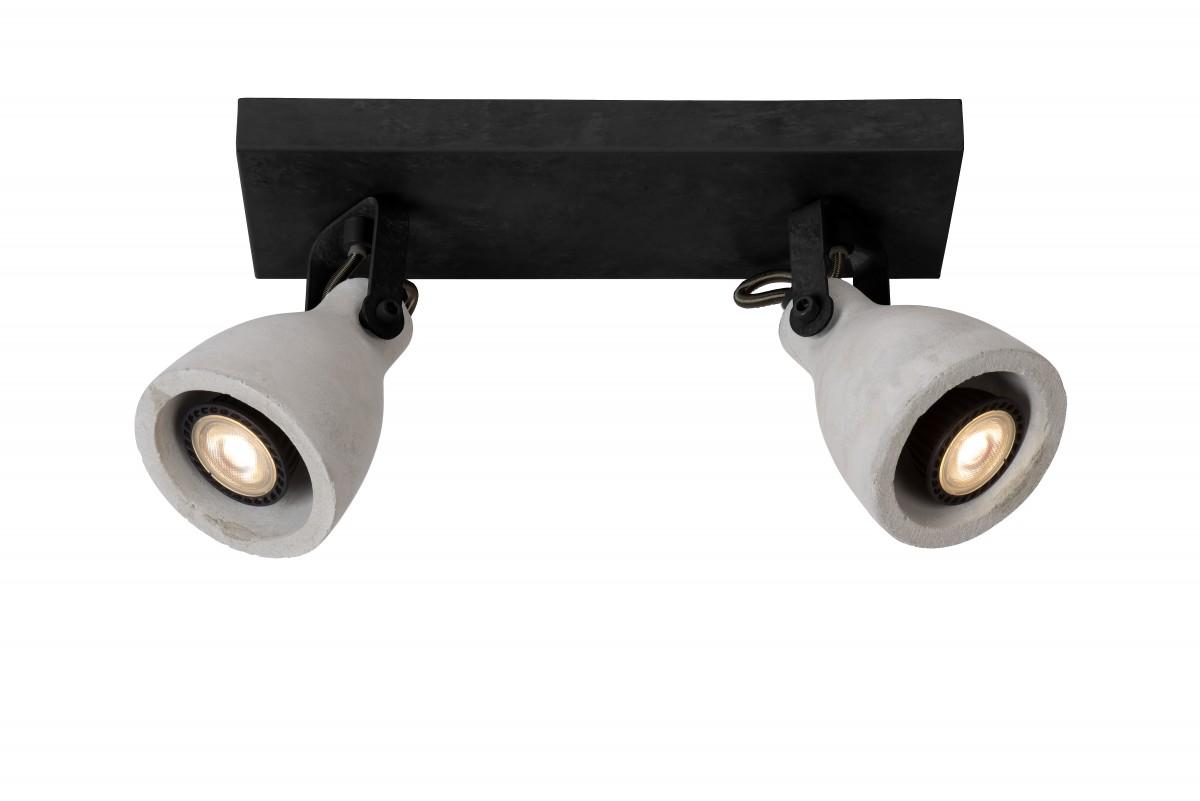 Lucide 05910/10/30 LED stropní bodové svítidlo Concri 2x5W|3000K