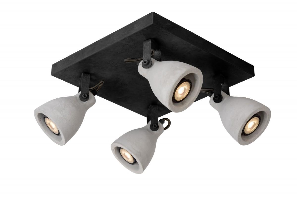 Lucide 05910/19/30 stropní bodové svítidlo Concri 4x5W|3000K