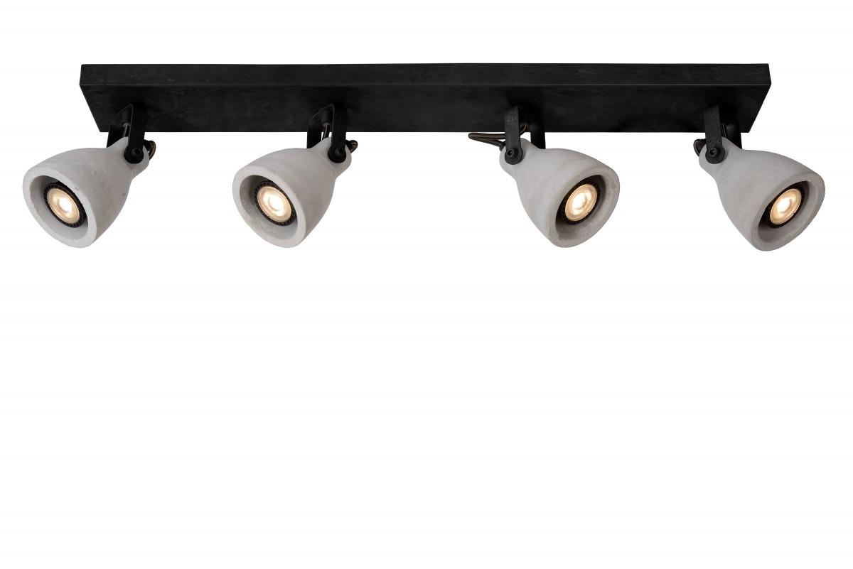 Lucide 05910/20/30 LED stropní bodové svítidlo Concri 4x5W|3000K