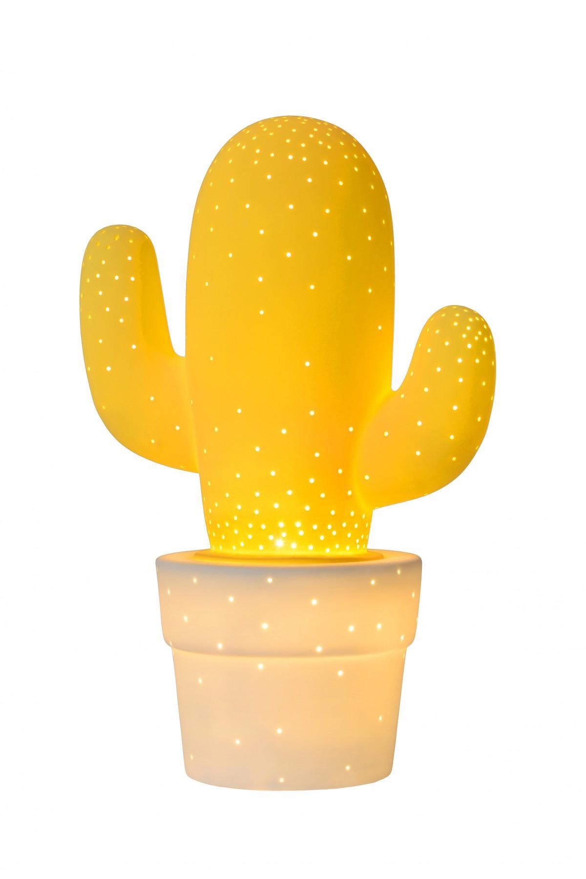 dětská stolní lampička Lucide Cactus 13513/01/34 1x40W E14 - kvalitní keramika