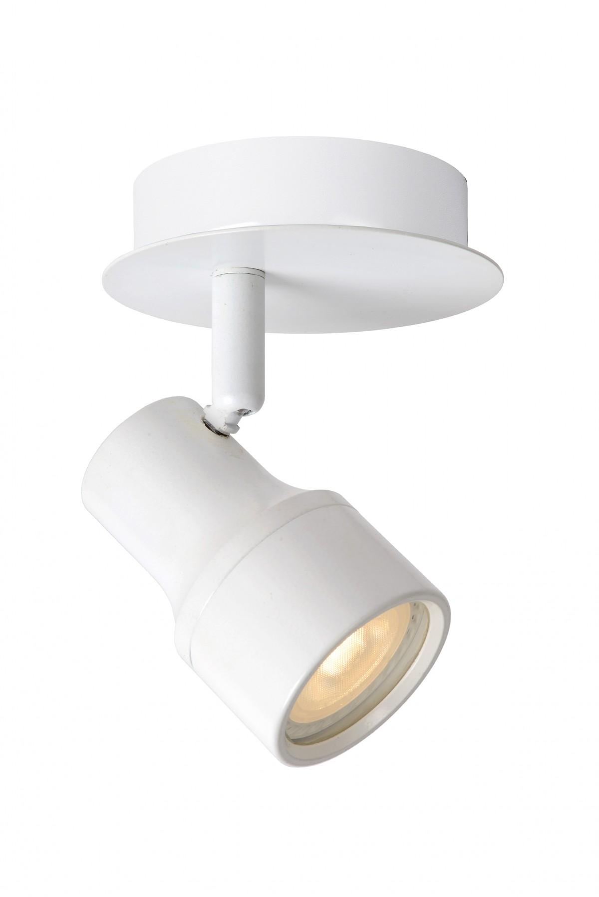 LED stropní bodové svítidlo Lucide Sirene 17948/05/31 1x5W GU10 - moderní koupelnové bodovky