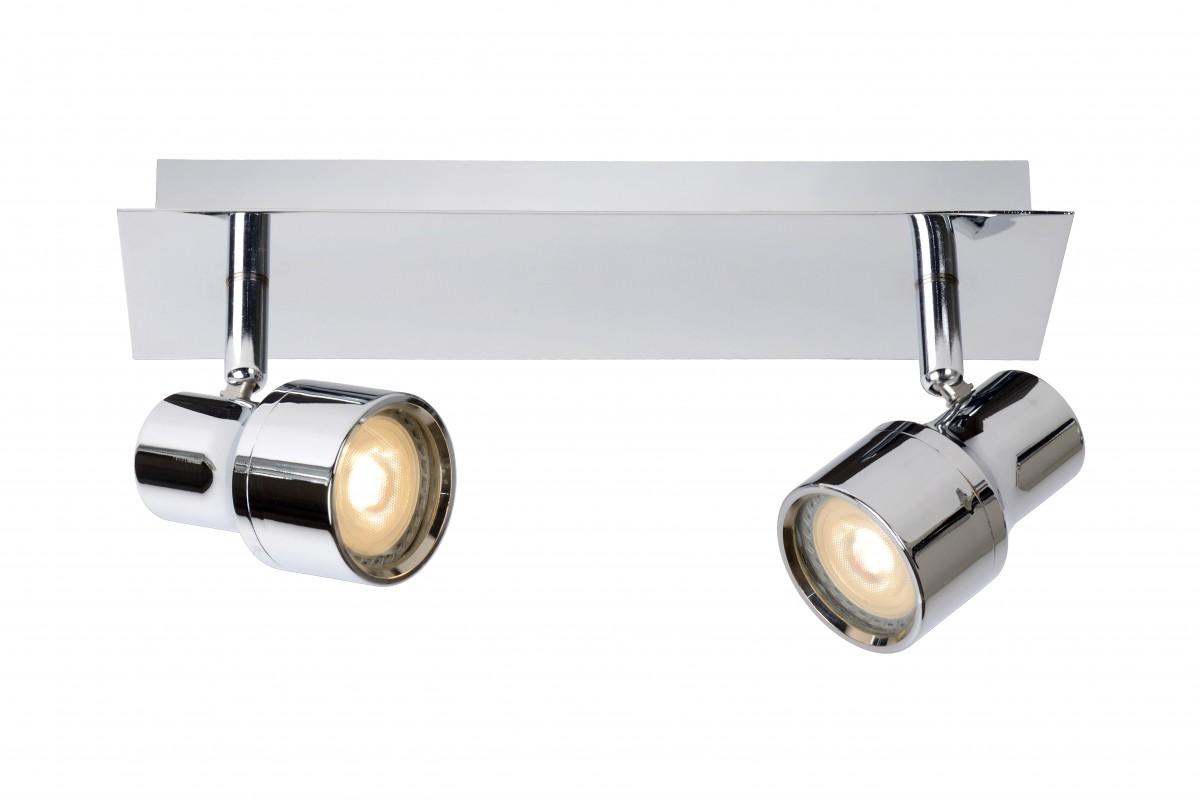 LED stropní bodové svítidlo Lucide Sirene 17948/10/11 2x5W GU10 - moderní koupelnové bodovky