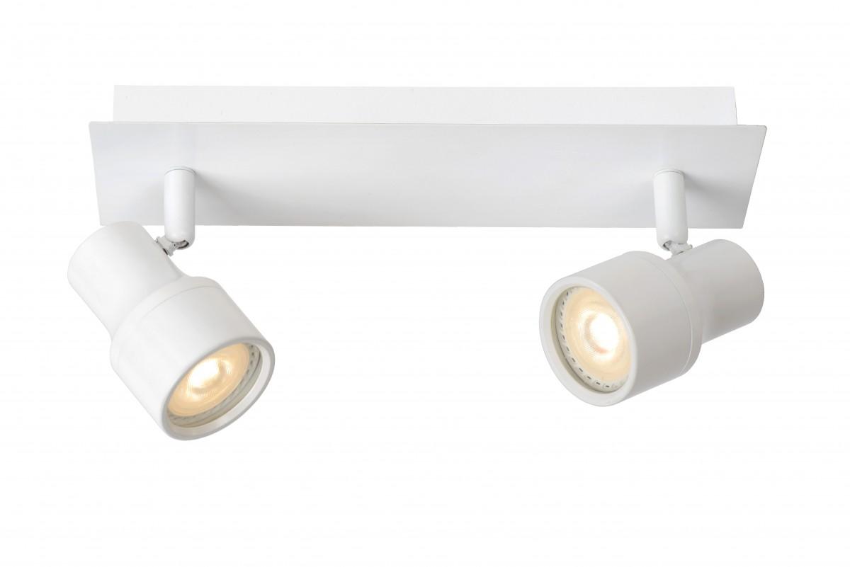 LED stropní bodové svítidlo Lucide Sirene 17948/10/31 2x5W GU10 - moderní koupelnové bodovky