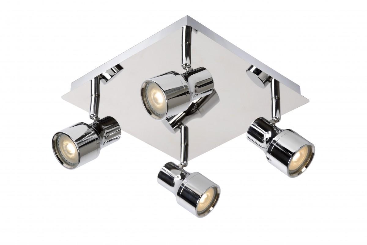 LED stropní bodové svítidlo Lucide Sirene 17948/20/11 4x5W GU10 - moderní koupelnové bodovky