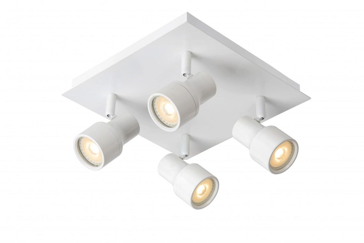 LED stropní bodové svítidlo Lucide Sirene 17948/20/31 4x5W GU10 - moderní koupelnové bodovky