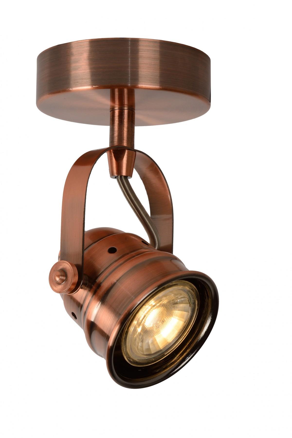 LED stropní bodové svítidlo Lucide Cigal 77974/05/17 1x5W GU10 - krásné bodovky