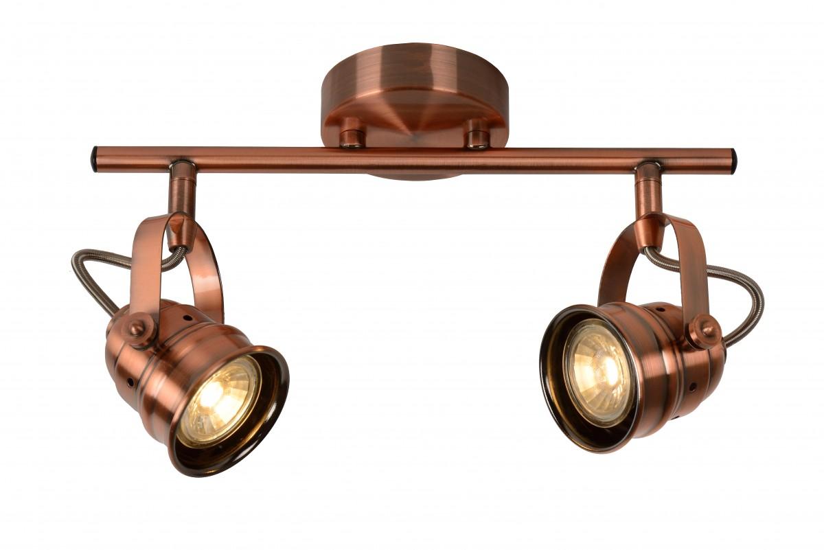 LED stropní bodové svítidlo Lucide Cigal 77974/10/17 2x5W GU10 - krásné bodovky