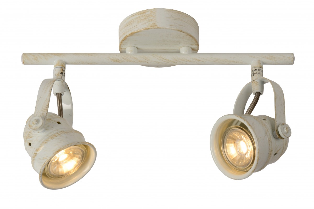 LED stropní bodové svítidlo Lucide Cigal 77974/10/21 2x5W GU10 - krásné bodovky
