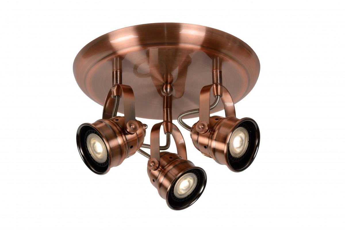 LED stropní bodové svítidlo Lucide Cigal 77974/15/17 3x5W GU10 - krásné bodovky