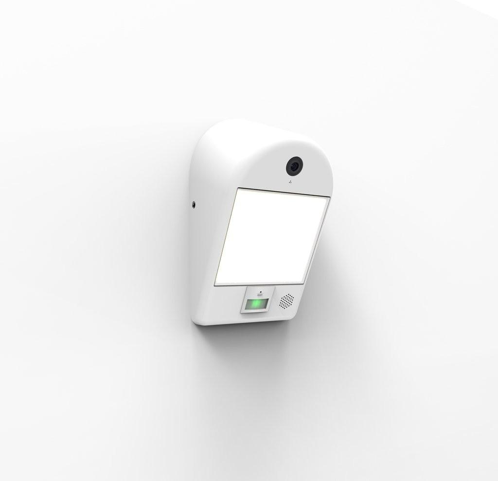 Lutec 5194901053 LED venkovní nástěnná lampa s kamerou a senzorem pohybu Mimo 1x18W | 3000K | IP54