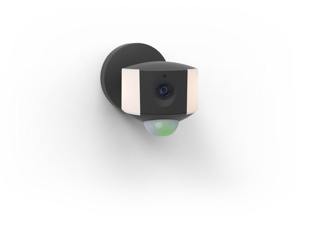 Lutec 5198801330 LED venkovní nástěnná lampa s kamerou a senzorem pohybu Ara 1x4W | 3000K | IP44