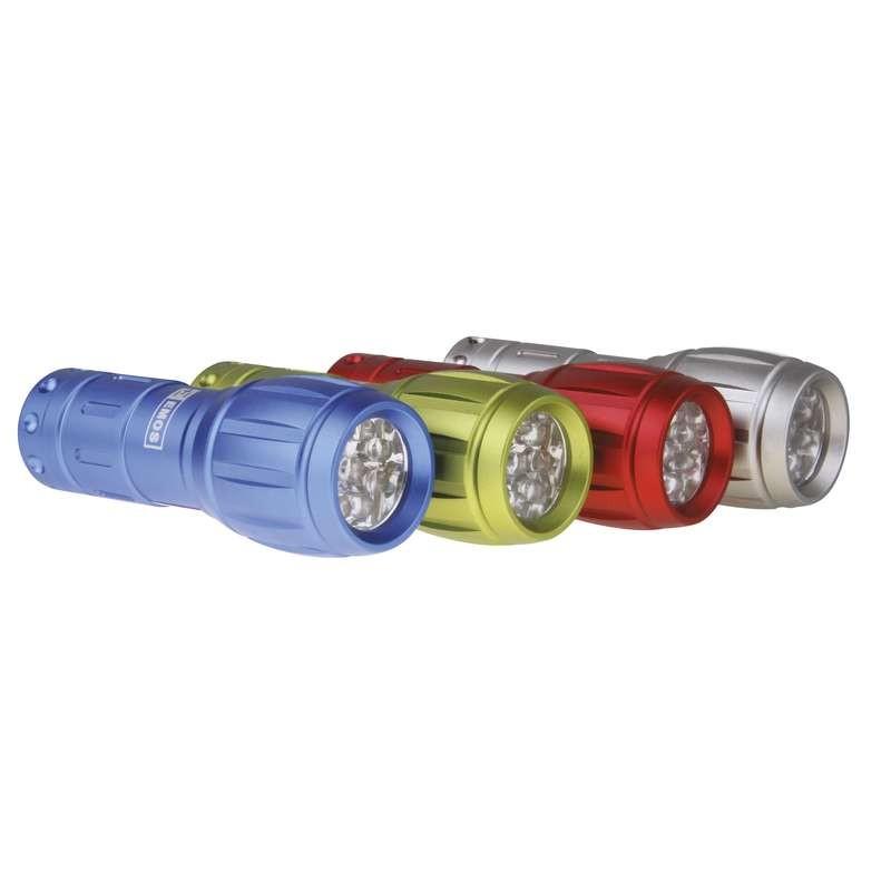 P3882 EMOS LED svítidlo ruční kovové / baterka