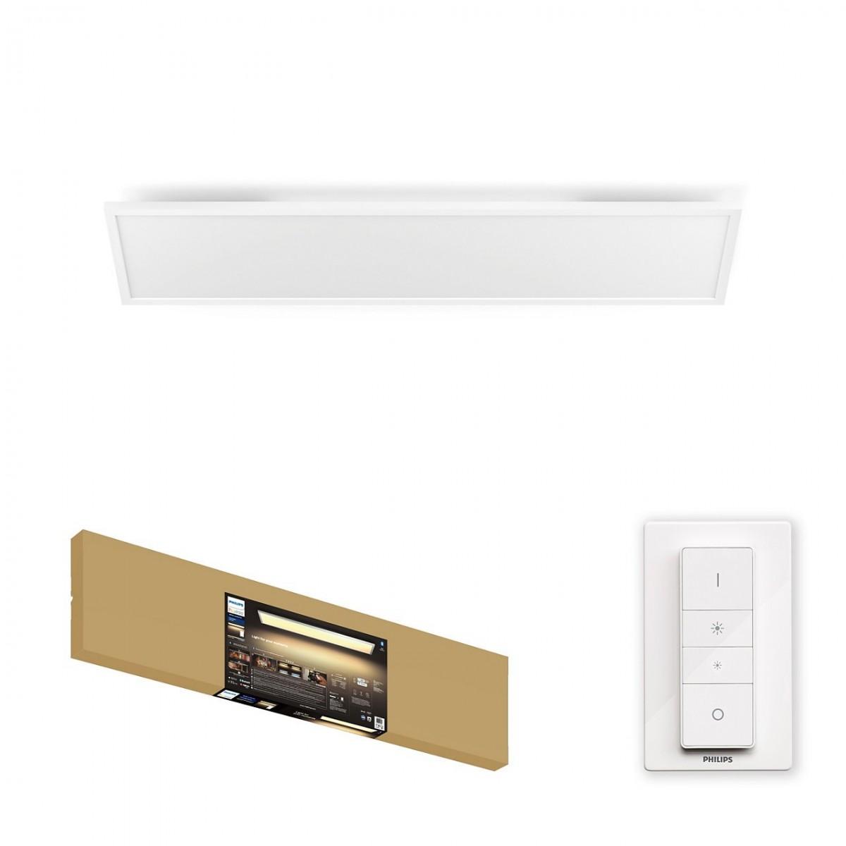 Philips Hue 32163/31/P6 LED stropní panel Aurelle 1x46,5W   2200-6500K - Bluetooth, s dálkovým ovladačem