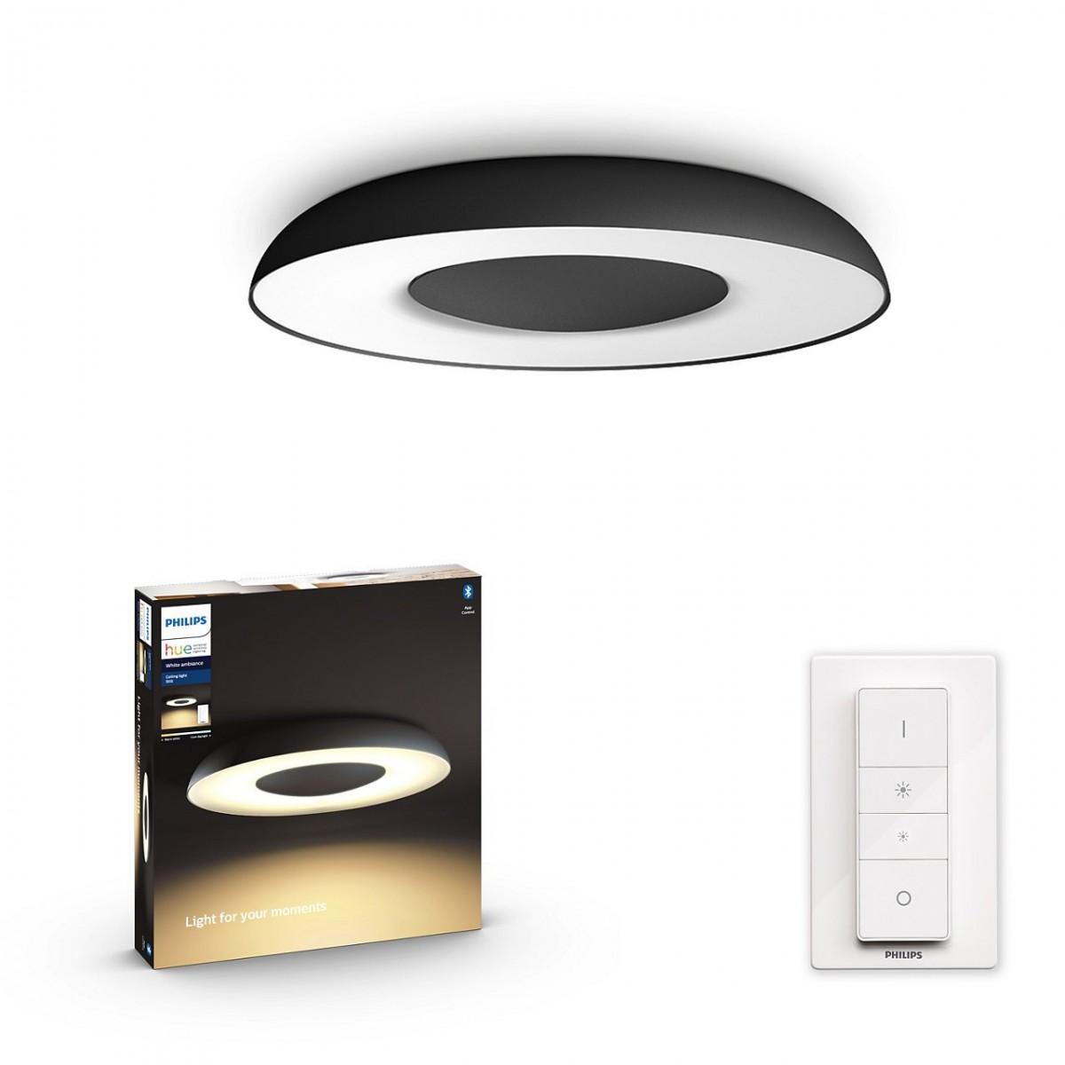Philips Hue 32613/30/P6 LED přisazený lustr Still 1x32W   2200-6500K - Bluetooth, s dálkovým ovladačem