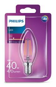 Philips Žárovka LED svíčka, 4W, E14, teplá bílá