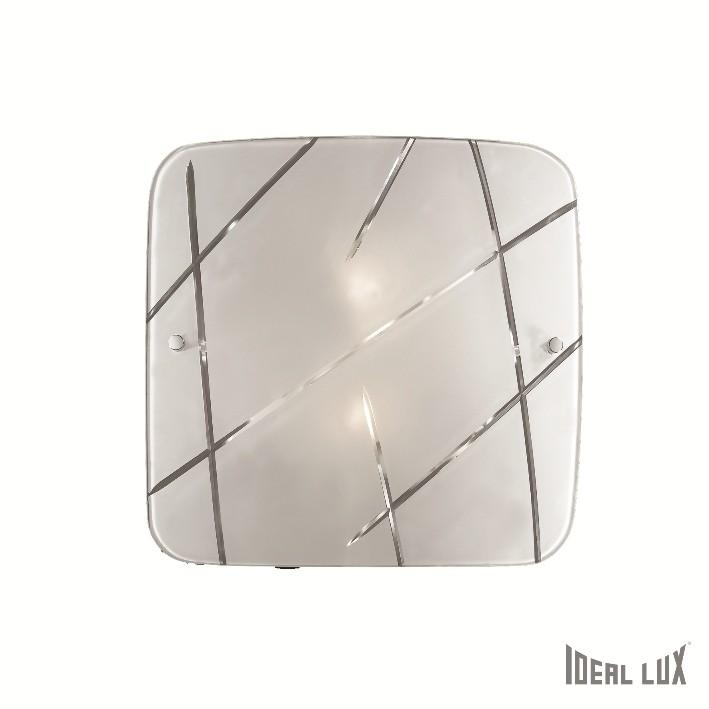 přisazené nástěnné svítidlo Ideal lux Solco PL2 068329 2x60W E27 - moderní