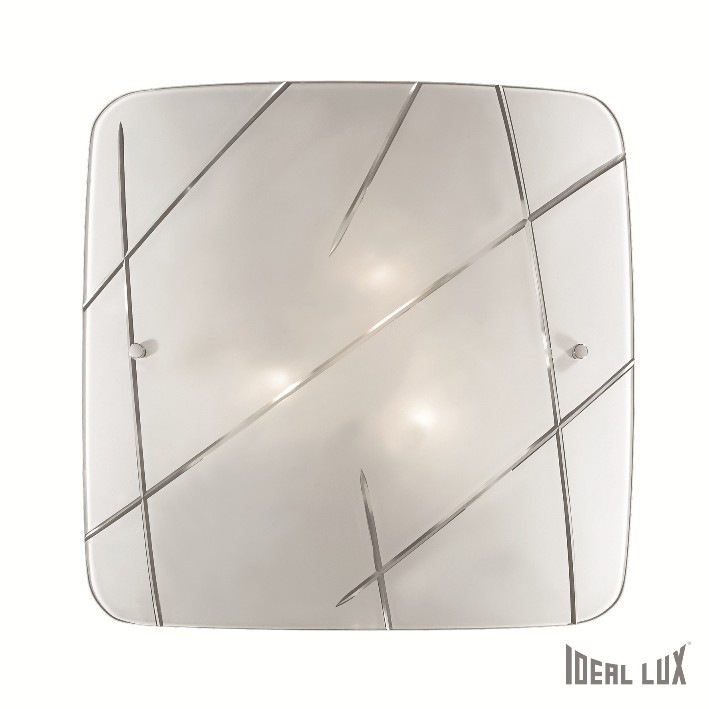 přisazené nástěnné svítidlo Ideal lux Solco PL3 068336 3x60W E27 - moderní