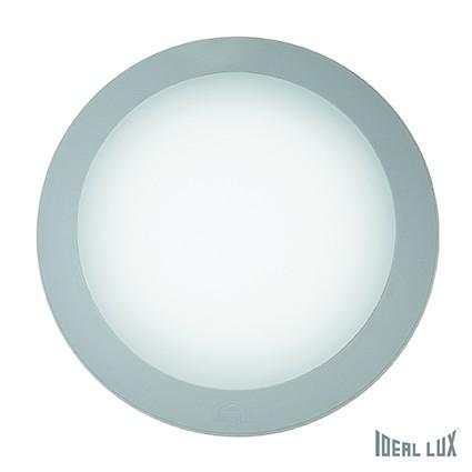 přisazené nástěnné a stropní svítidlo Ideal lux BERTA 122786 - šedá