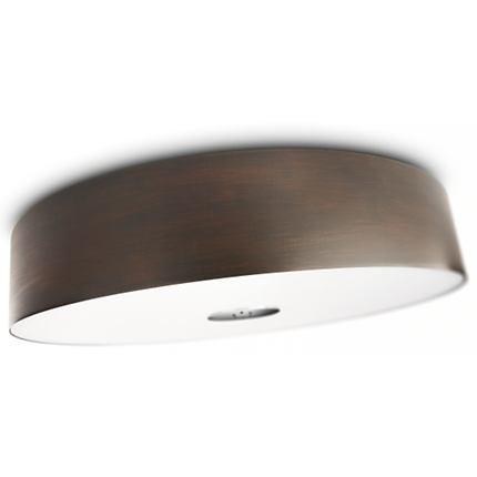 přisazené stropní svítidlo zářivka Philips FAIR 40340/11/16 - hnědá