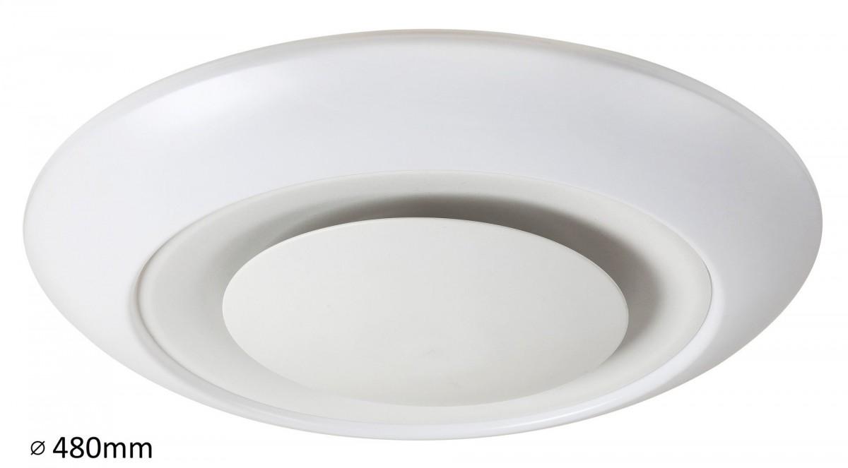 RABALUX 2493 Calvin stropní svítidlo RGB LED 24W bílá