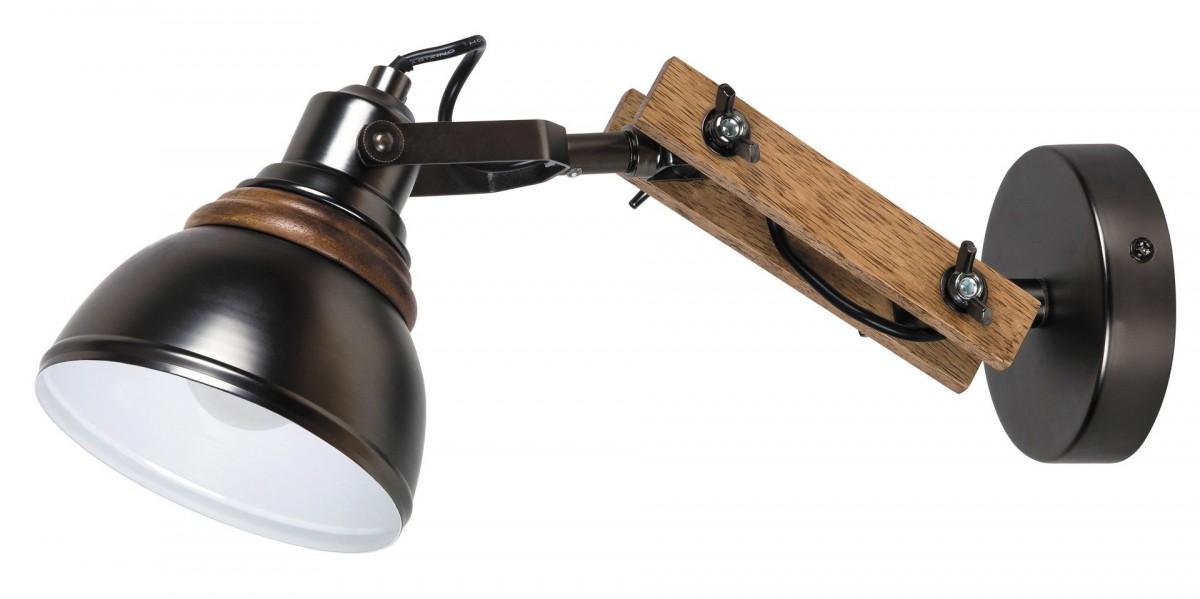 RABALUX 2723 Aksel nástěnné svítidlo E14 1x40W černá