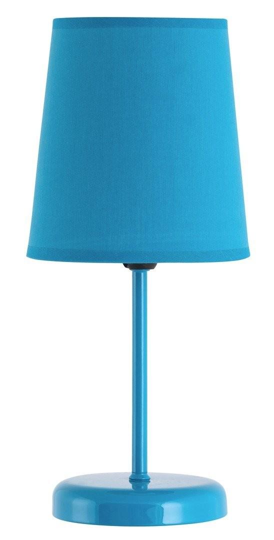 RABALUX 4512 Glenda textilní lampička E14 1x40W modrá