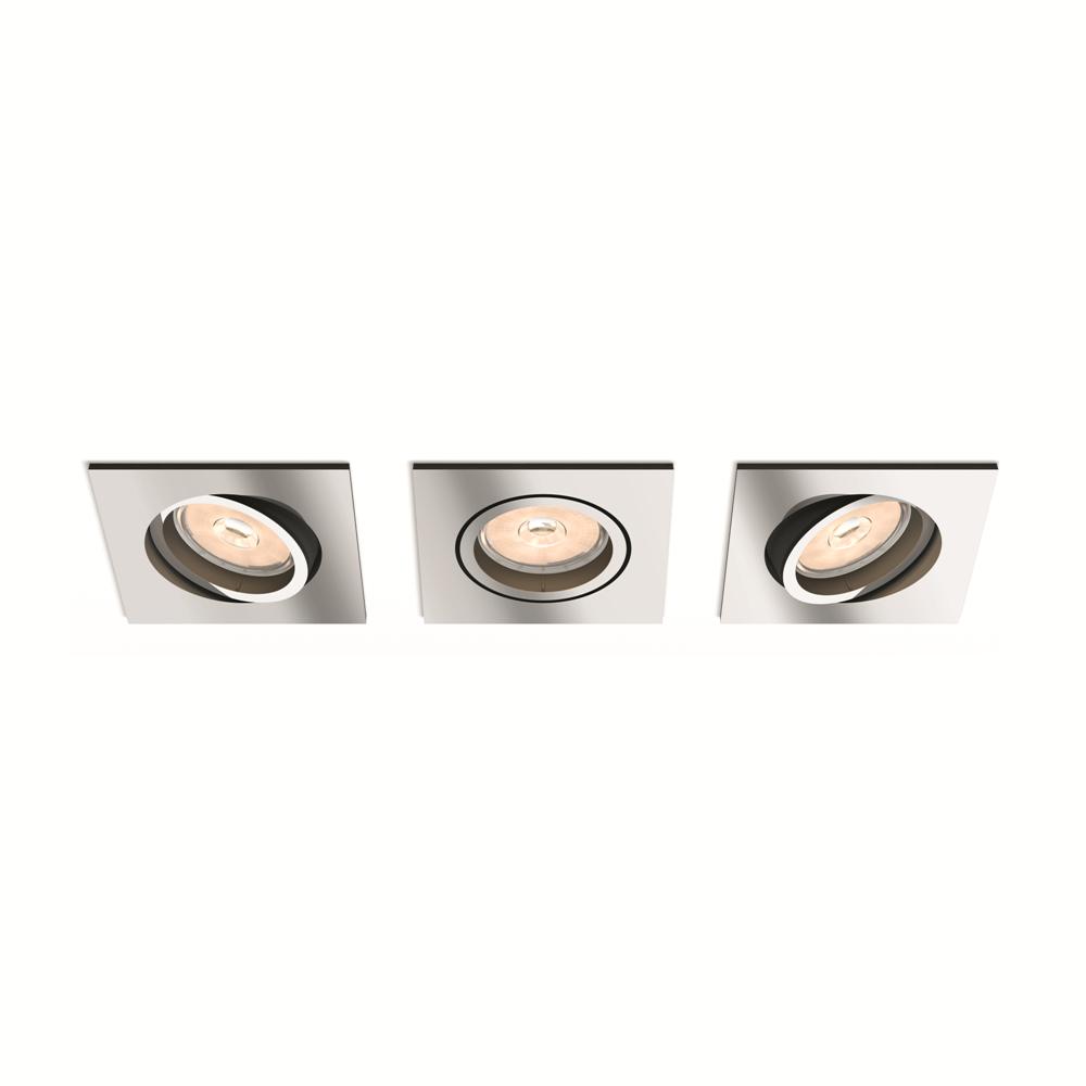 Set bodových podhledových svítidel Philips Donegal 50403/11/PN