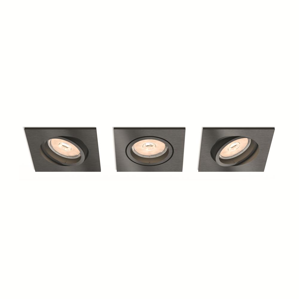 Set bodových podhledových svítidel Philips Donegal 50403/99/PN
