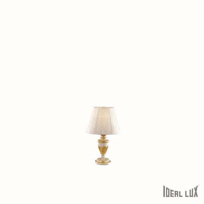 stolní lampa Ideal lux Flora TL1 052687 1x40W E14 - luxusní komplexní osvětlení