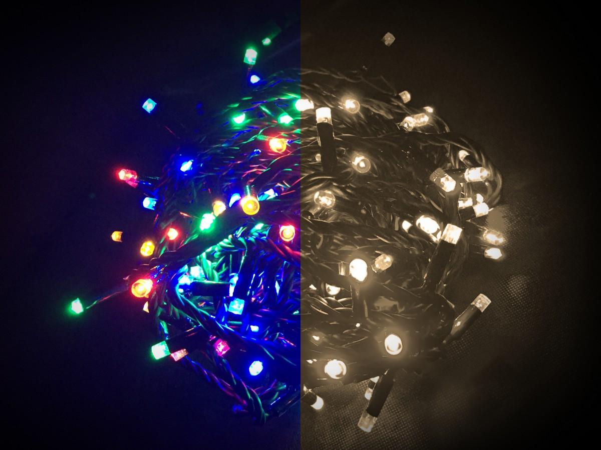Světelný LED řetěz s dálkovým ovládáním 33633
